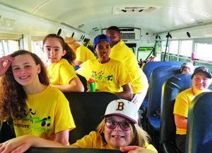 Community helps school obtain bus