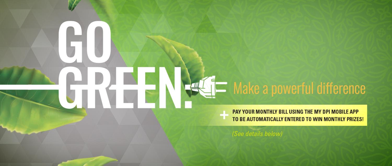go green header image