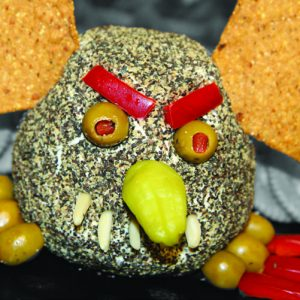 Photo of goblin cheese ball