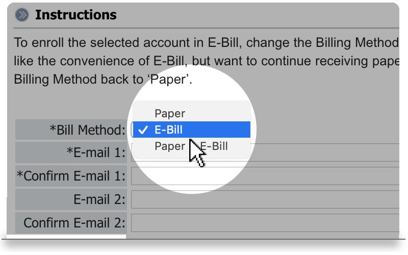 e-bill image